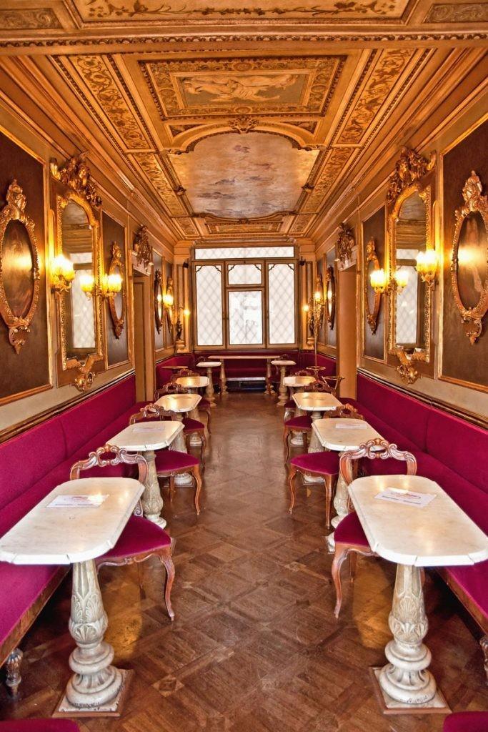 Венеция, кафе, кофе, достопримечательности