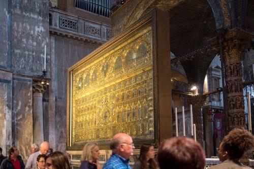 Cобор Святого Марка, Венеция, собор внутри
