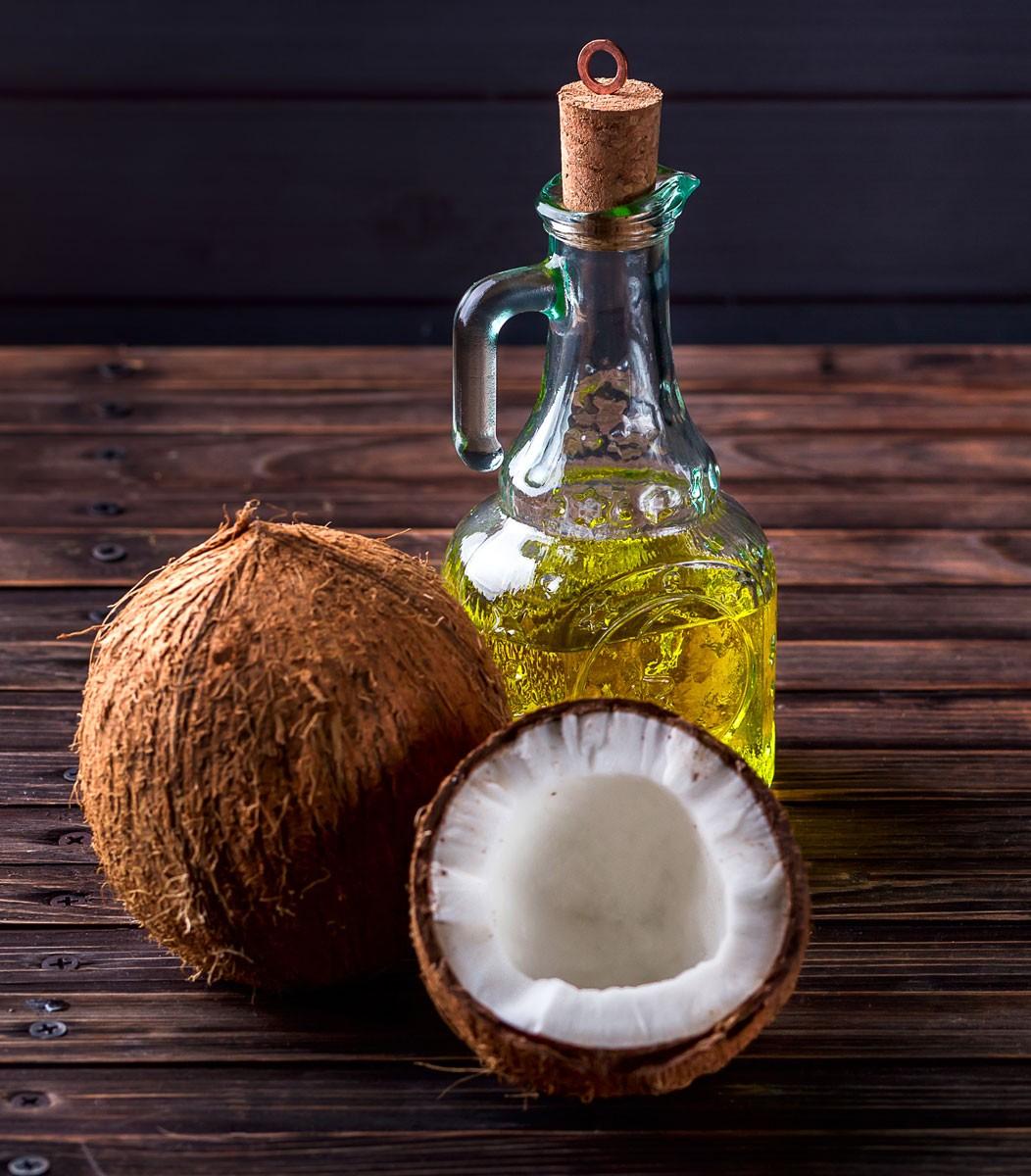 Масленица, кокосовое масло, кокос