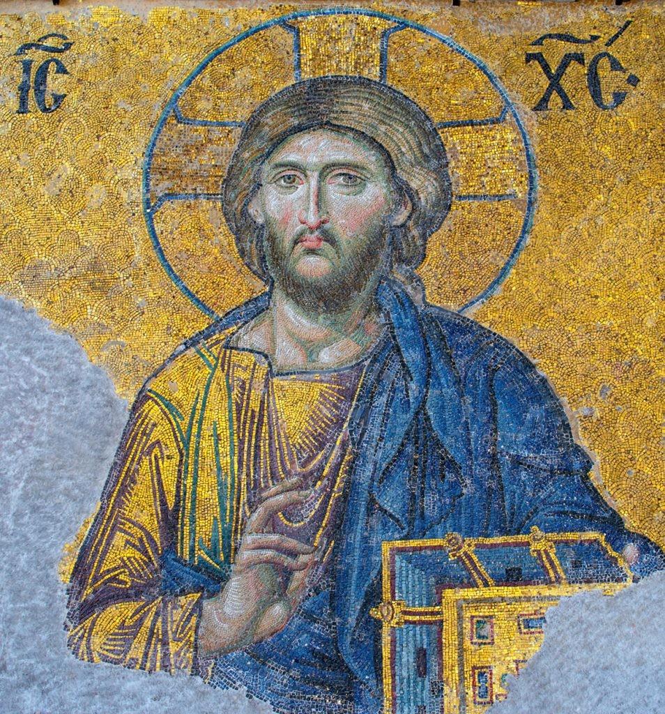 Иисус Христос, Спаситель, Бог, мозаика, Новый завет