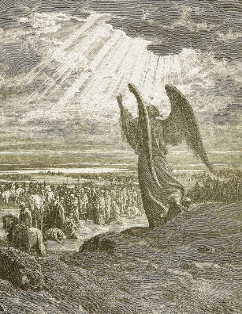 ветхи завет, ангел, история, евреи