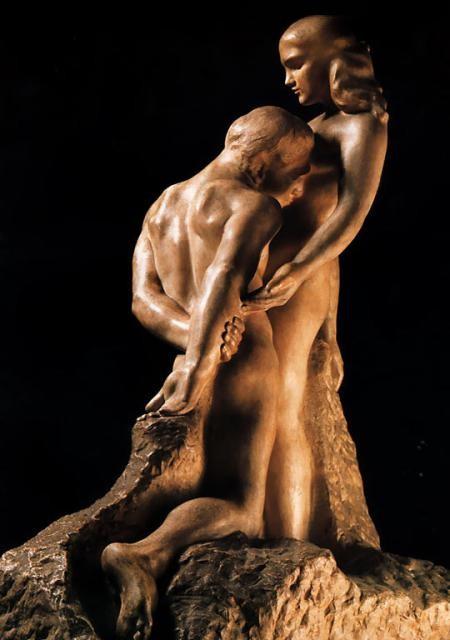 «Вечный кумир», Роден, скульптура