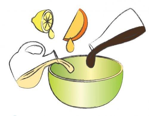 салат, рисунок, пошаговый рецепт