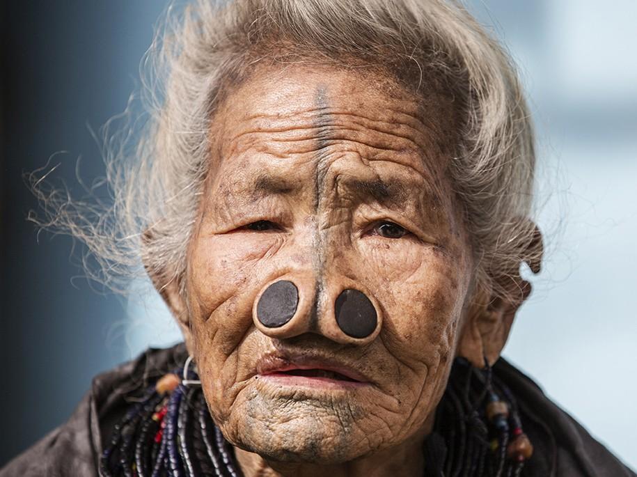 древние племена, женщина, красота, нос, необычная красота
