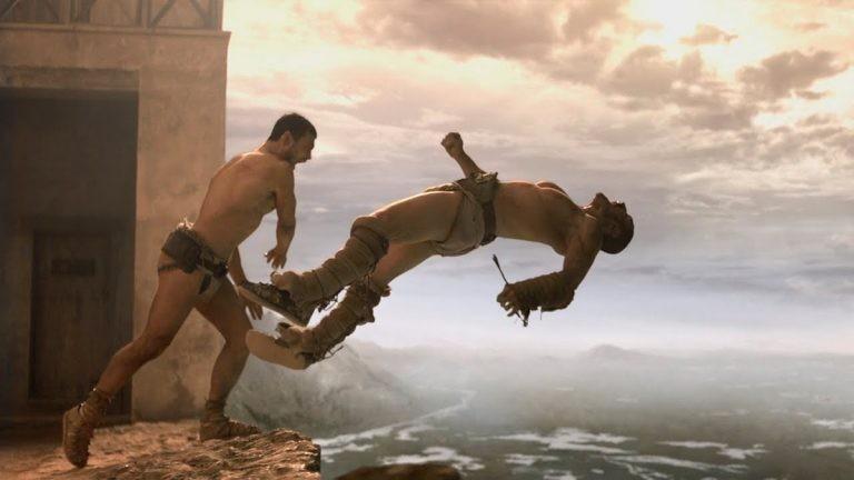 Сериал «Спартак: Кровь и песок», кадры