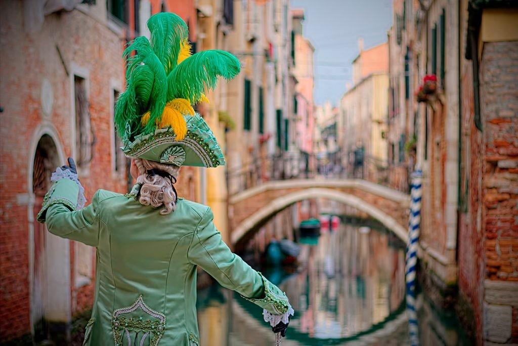 Венеция, карнавал, Казанова