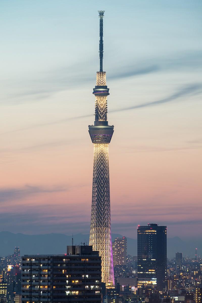 Токио. Япония. Телебашня