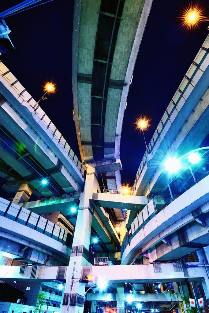 Дороги.Токио. Япония