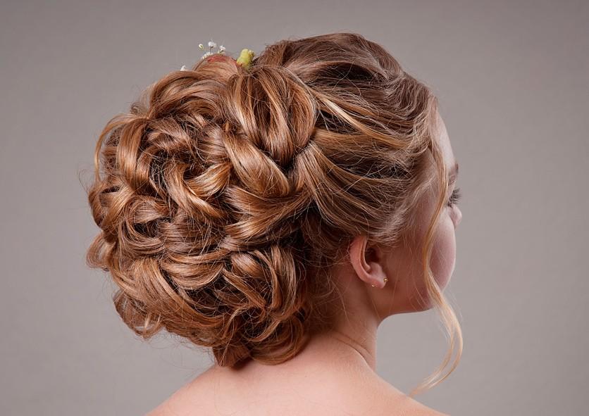 прическа, коса, стиль, волосы, красота