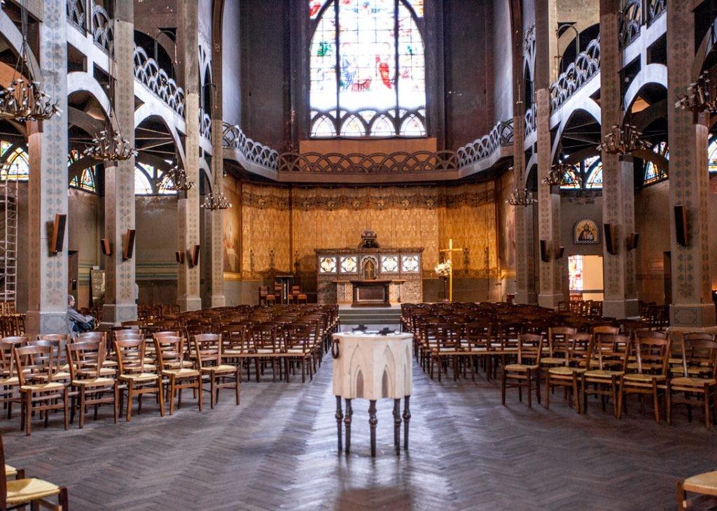 Храм святого Иоанна Богослова, Париж, Франция, rue des Abbesses