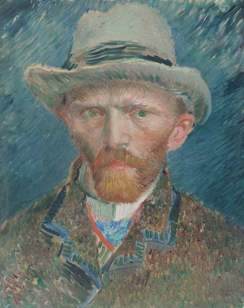 Vincent van Gogh, ван гог , портрет, любовь