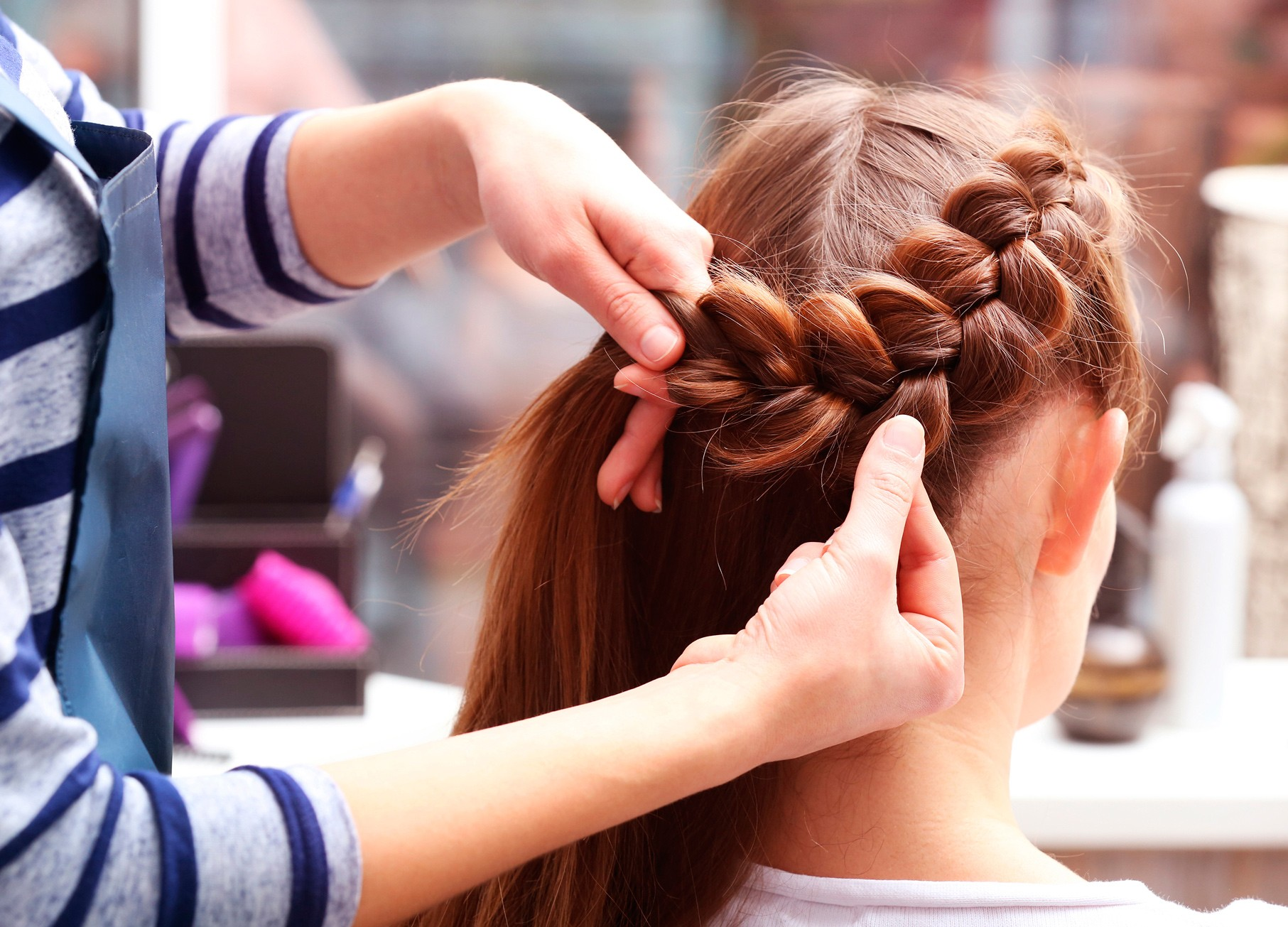 чем заняться, коса, волосы, мастер класс, красота