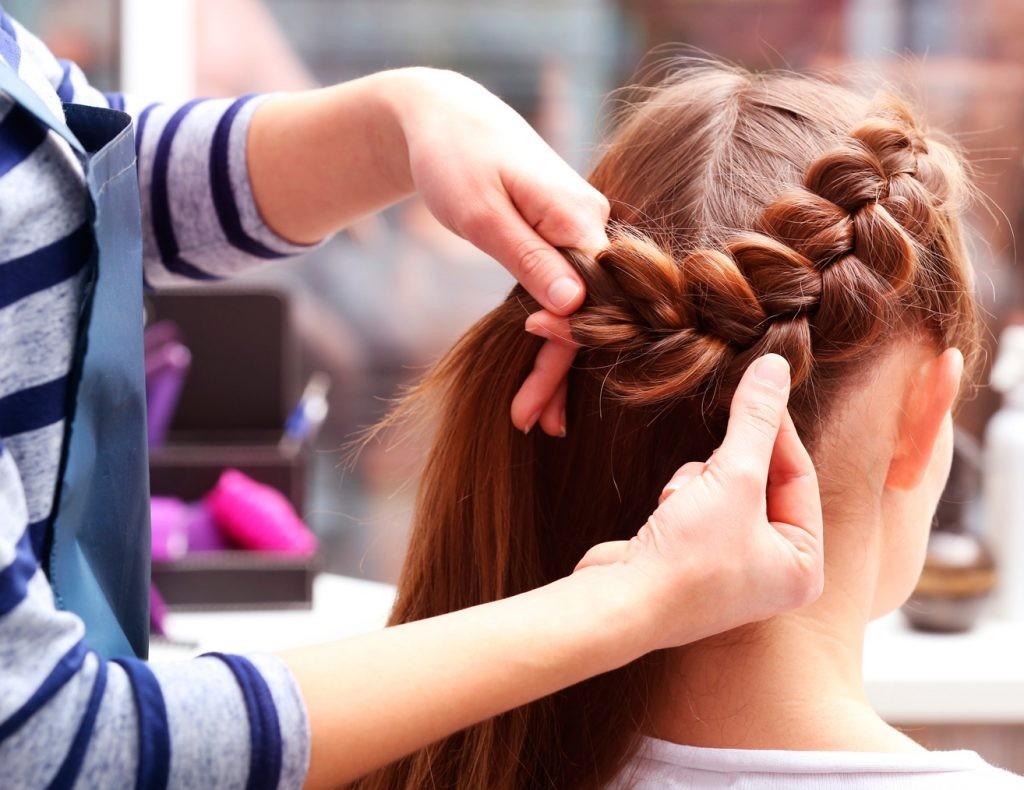 коса, прическа, мастер, красота