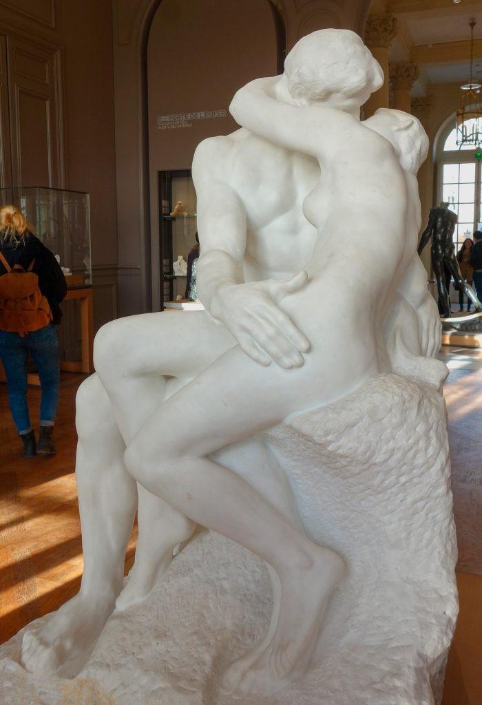 Роден, Поцелуй, скульптура