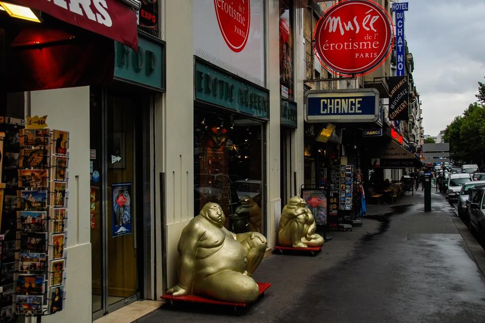 Музей, музей эротики, Париж, улица