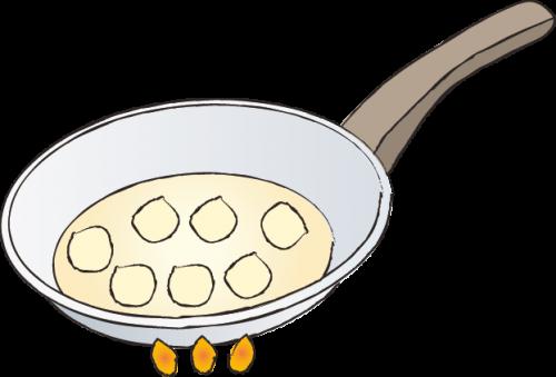 рецепт, рисунок, оладьи
