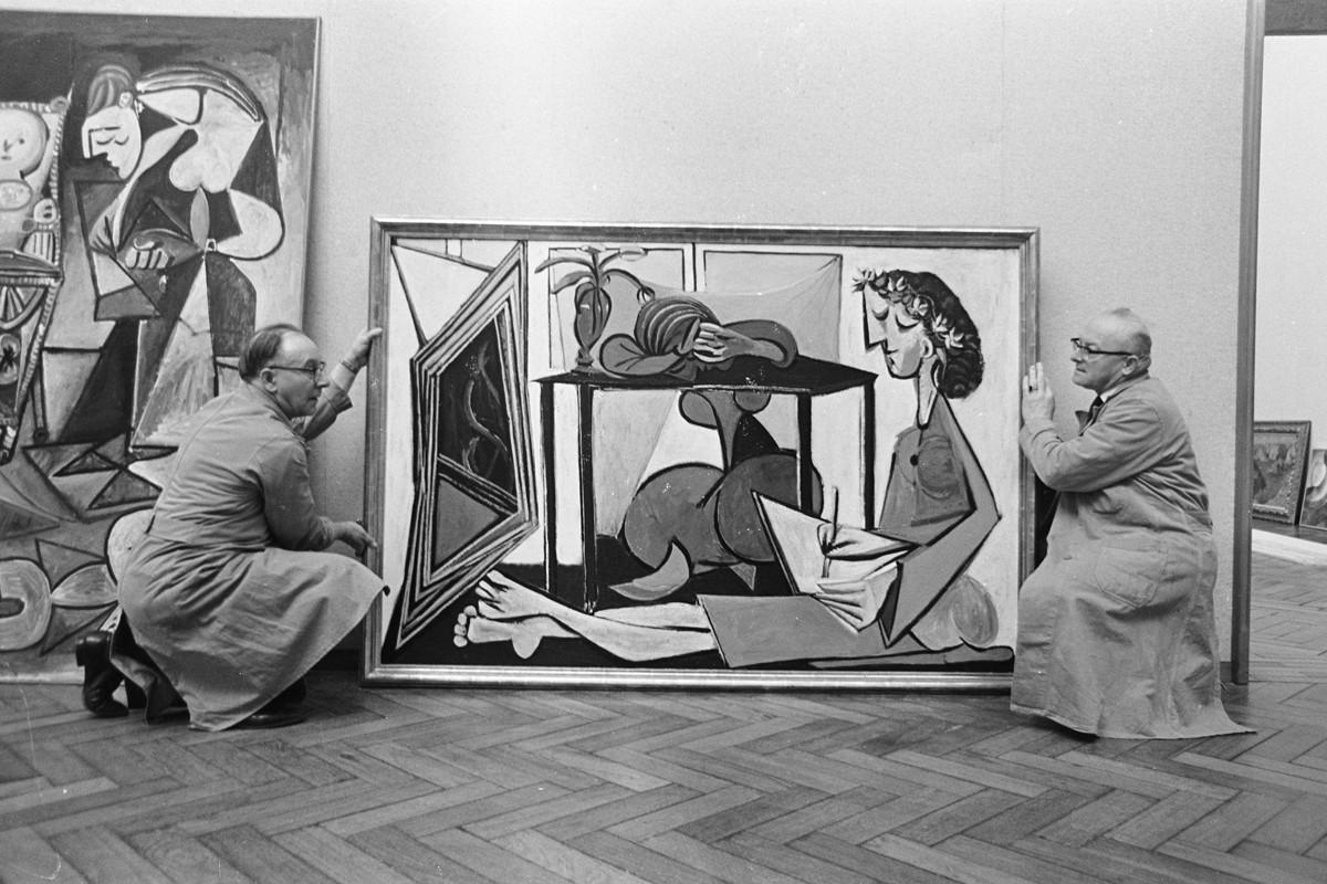 Picassos_in_Stedelijk_Museum,_Bestanddeelnr_920-1093