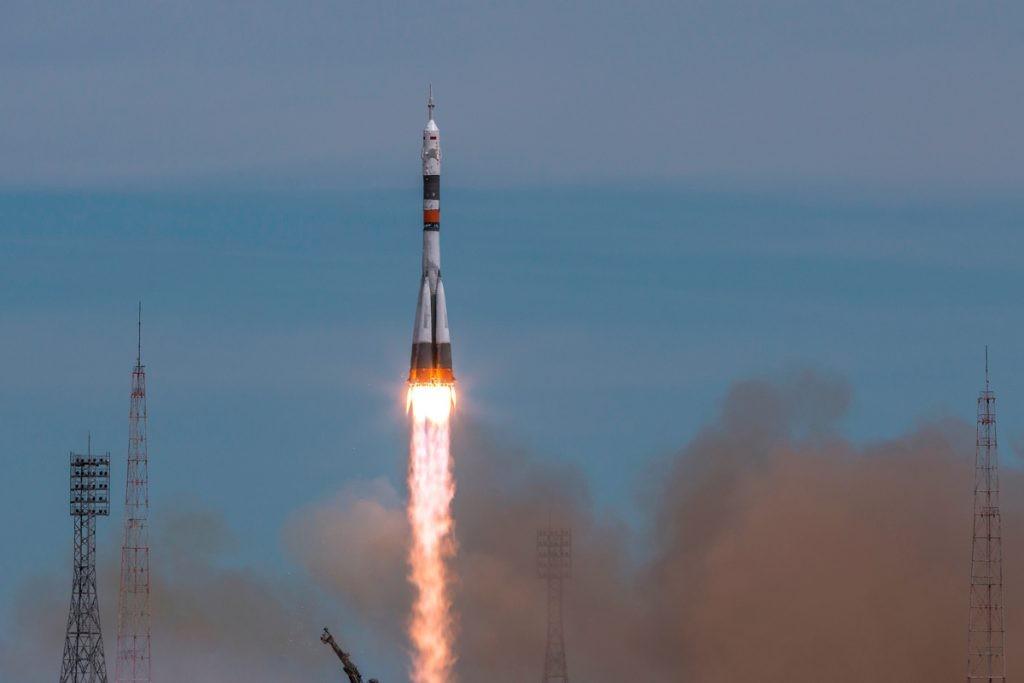 Байконур, ракета, запуск ракеты