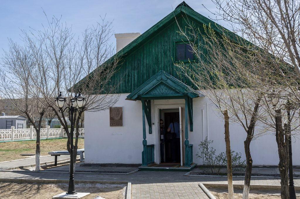 Байконур, дом космонавта