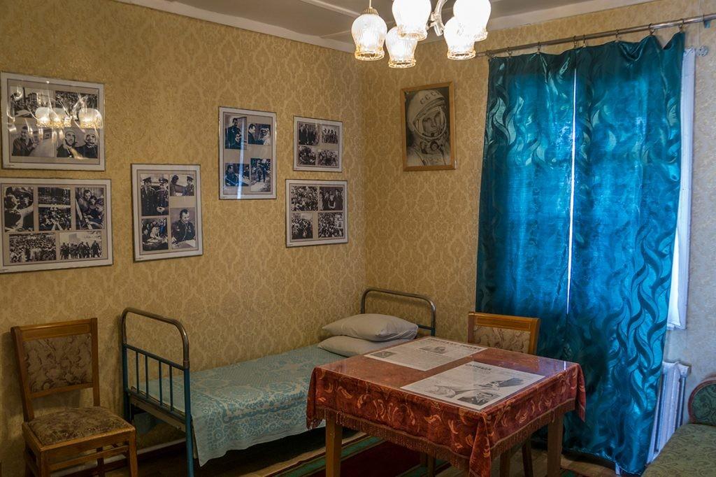 Гагарин, квартира, Байконур