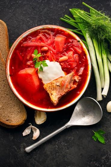 Классические супы, борщ, приготовление