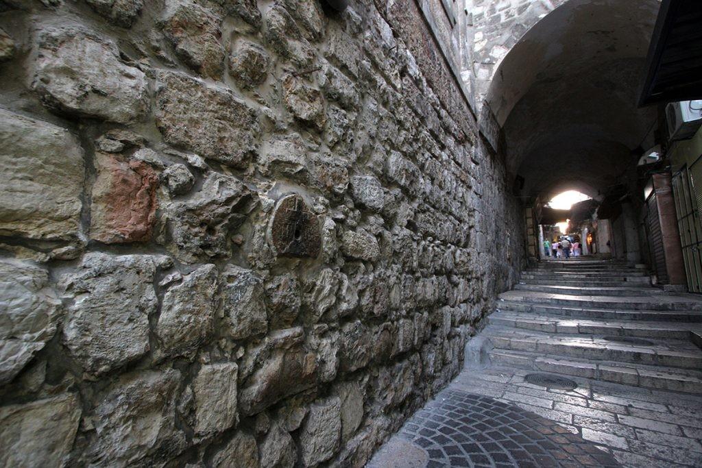 Via Dolorosa, Крестный путь, Святая Земля, Иерусалим, Пасха
