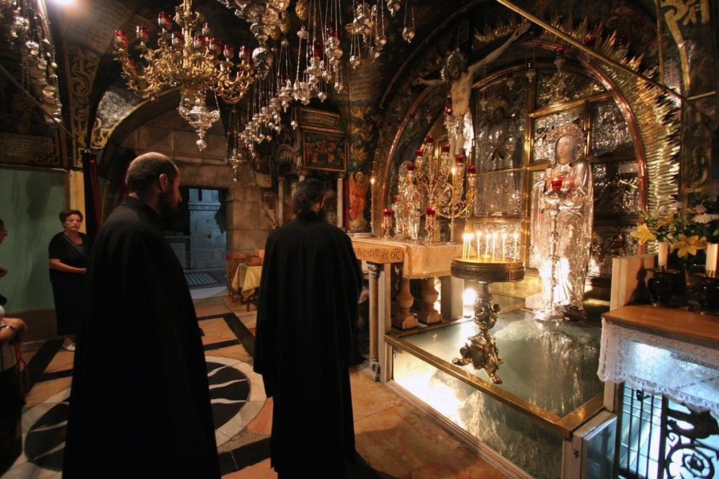 Голгофа, Иерусалим, храм