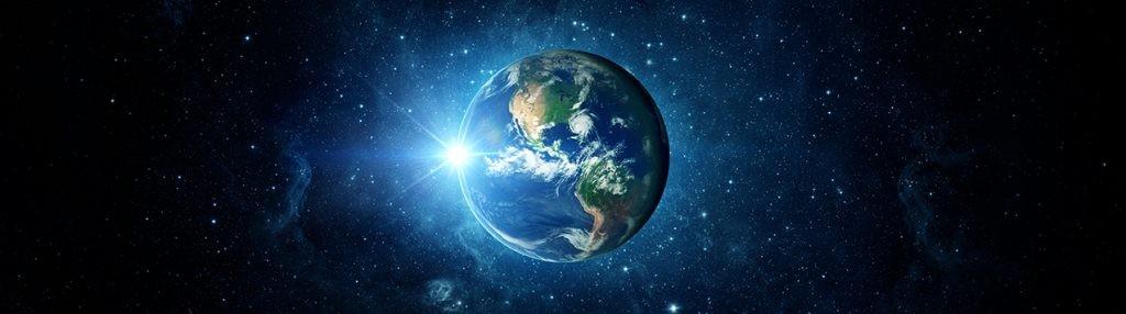 Земля, планета, космос, звезды