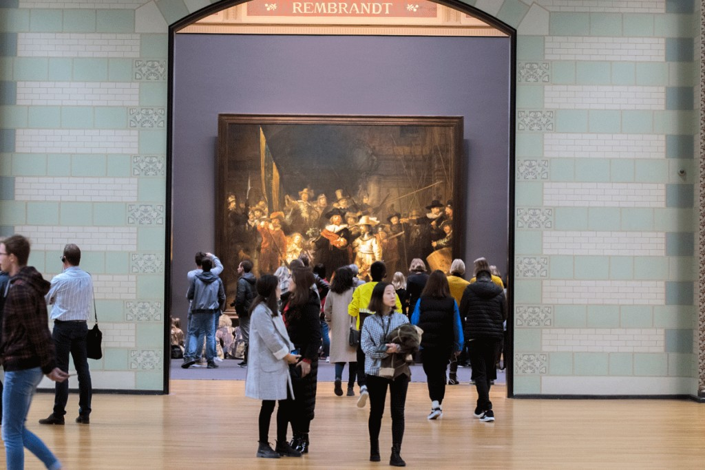 Голландия, Амстердам, музей, Рембрандт