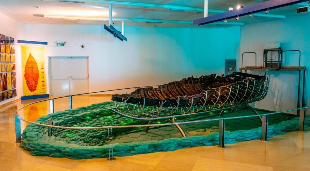 Галилейская лодка, лодка Христа