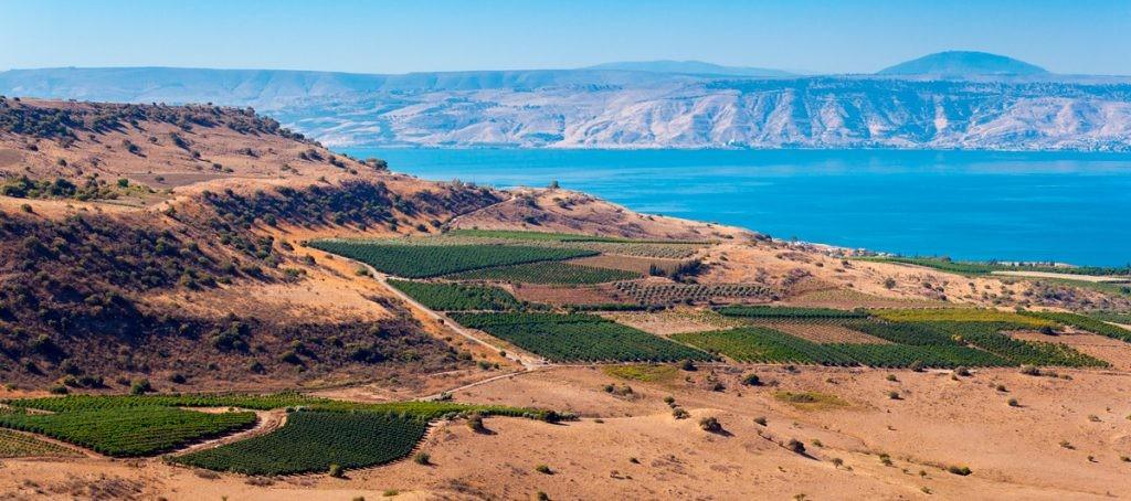 Озеро Кинерет, Тверия, Израиль, Святая земля, Христос, история, путешествие