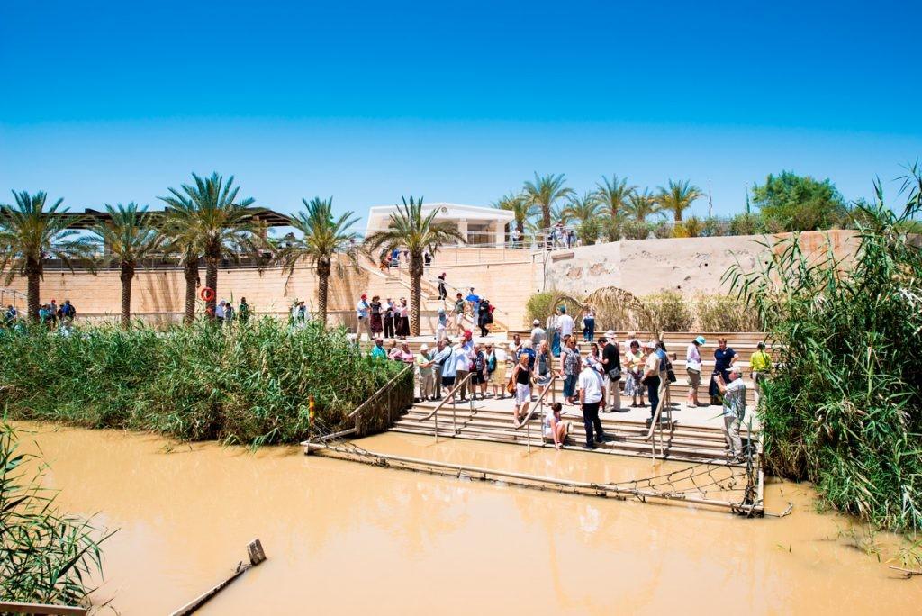 Иордан, Крещение, Святая земля