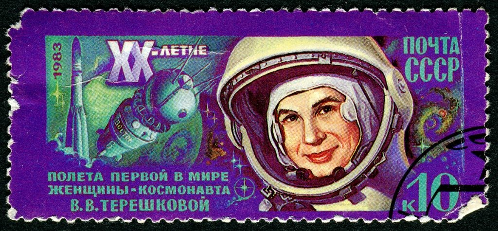 Валентина Терешкова, женщина космонавт