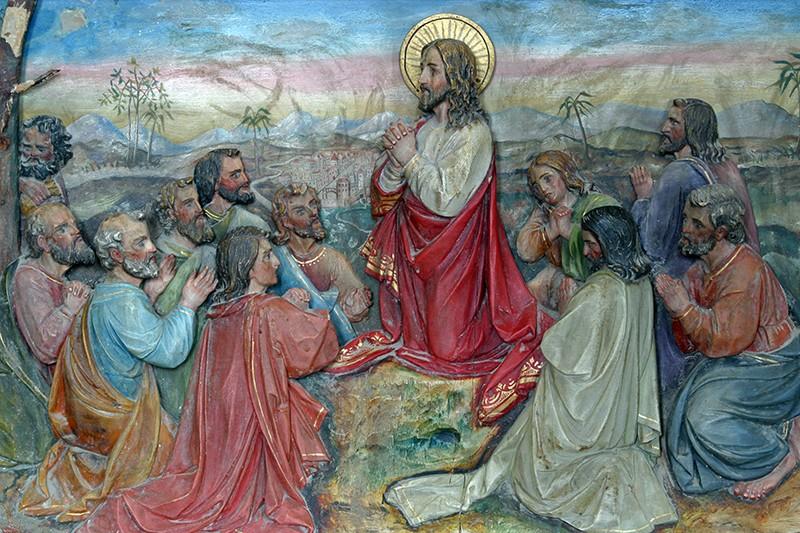 Нагорная проповедь, Христос