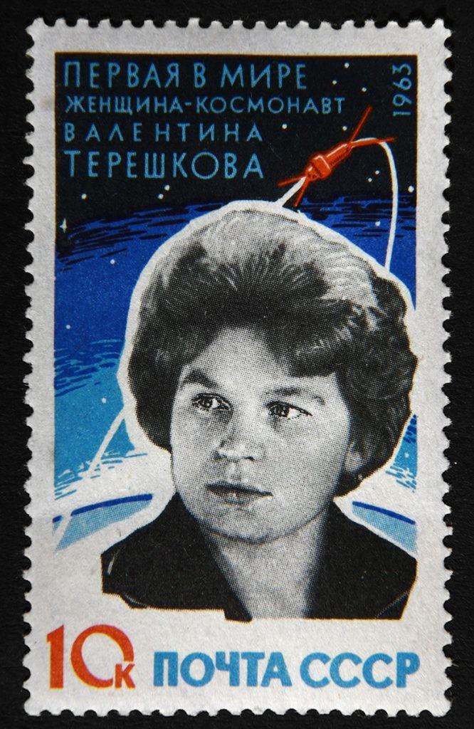 Терешкова, космонавт, марка
