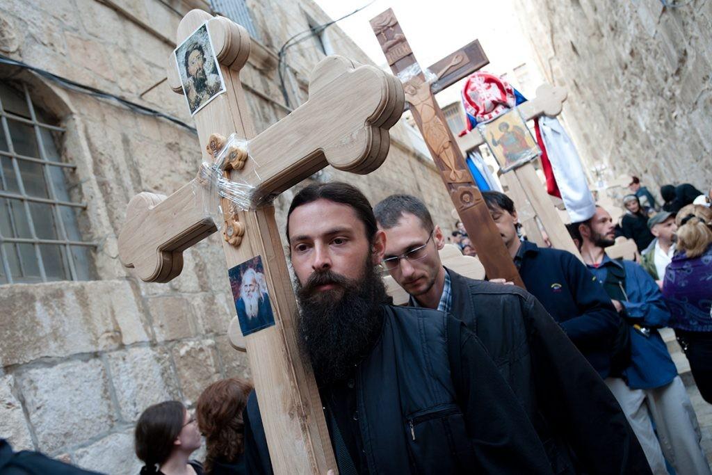 Via Dolorosa, Крестный путь, Святая Земля, Иерусалим, паломники