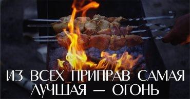 костер, огонь, шашлык
