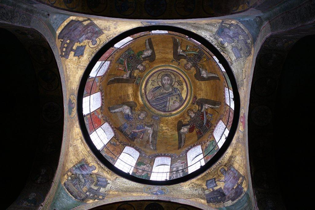 мозайки Софиевского собора, Киев, Христос
