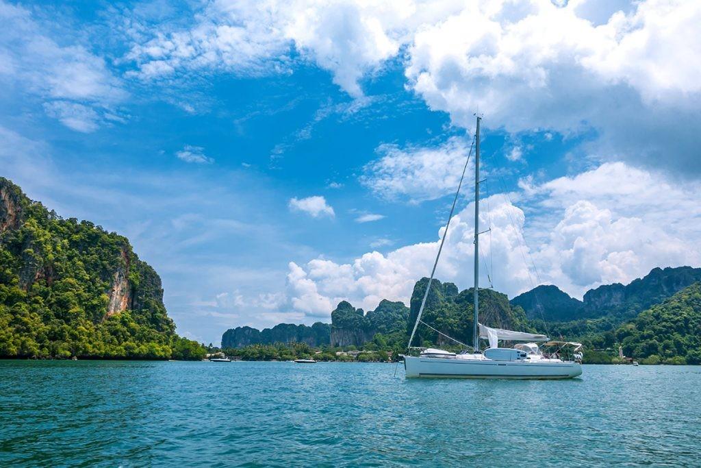 Тайланд, яхта, море, природа