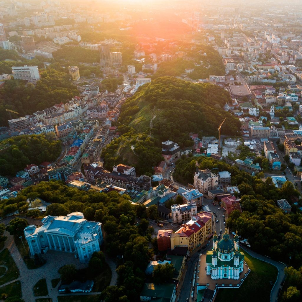 Андреевский спуск , Киев, Подол