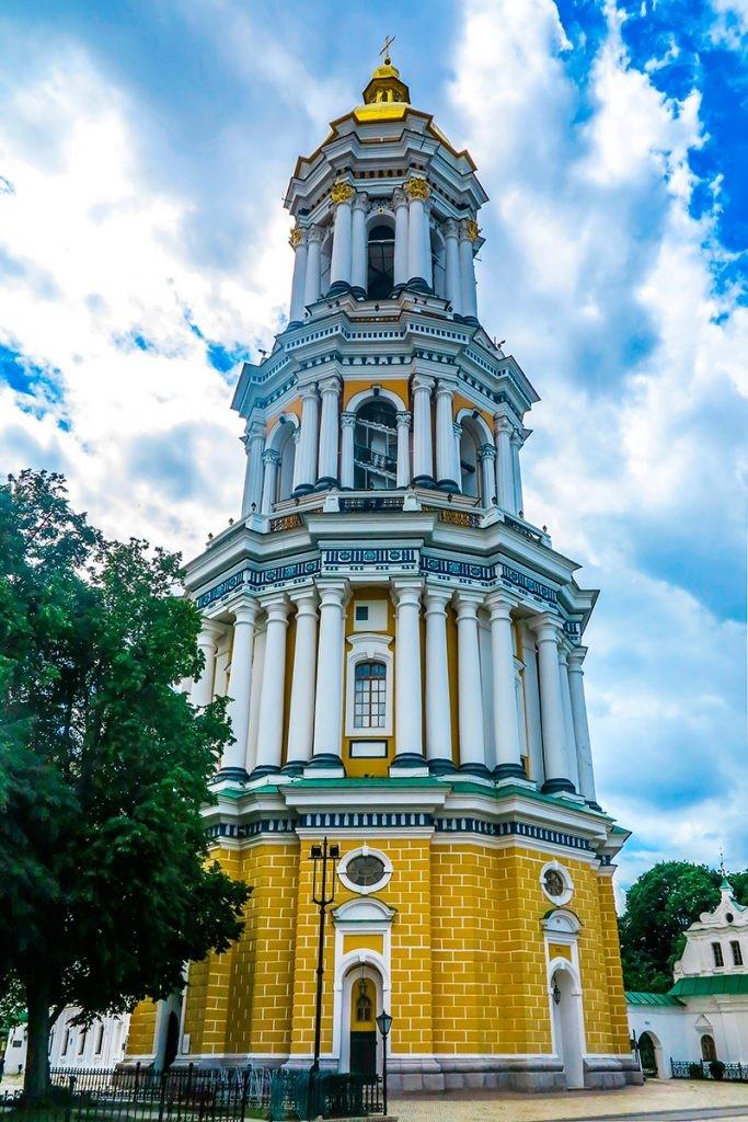 Киево-Печерская лавра. колокольня, Киев
