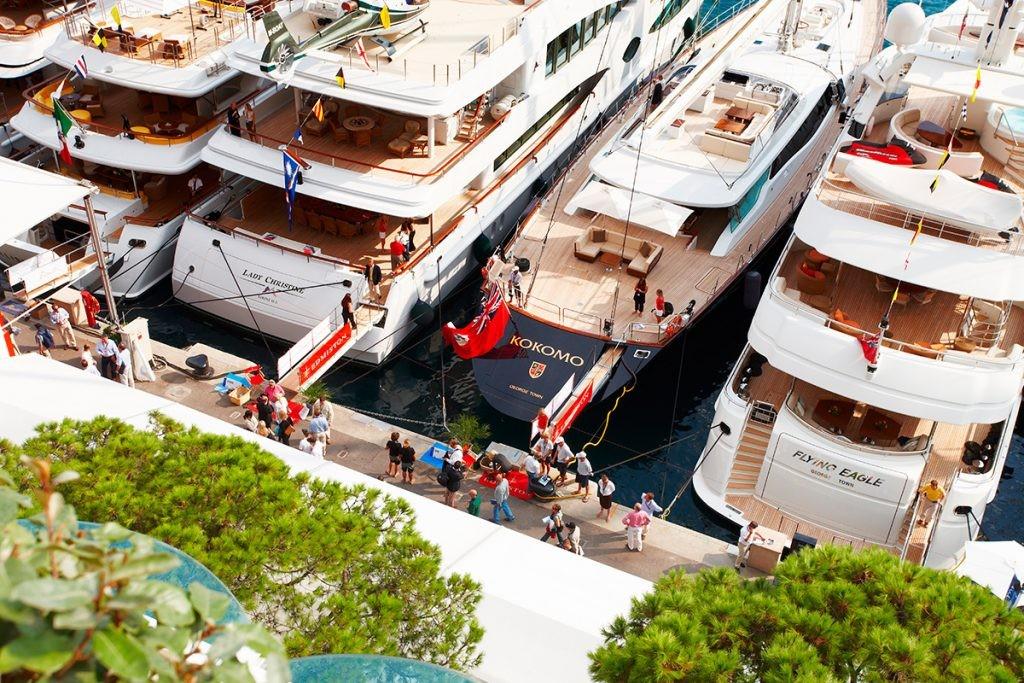 Monaco Yacht Show , Монако, люди, яхты, море