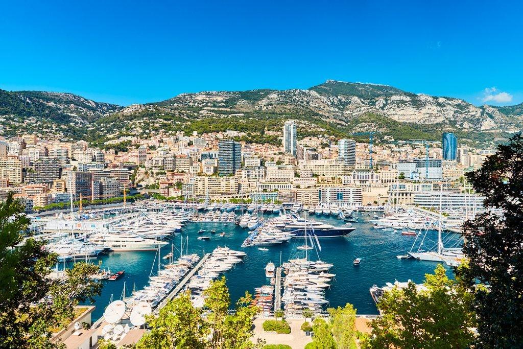 Monaco Yacht Show , Монако, море, вид, яхты