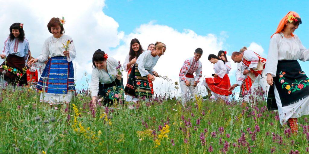 Болгария, Купала, трава, цветы