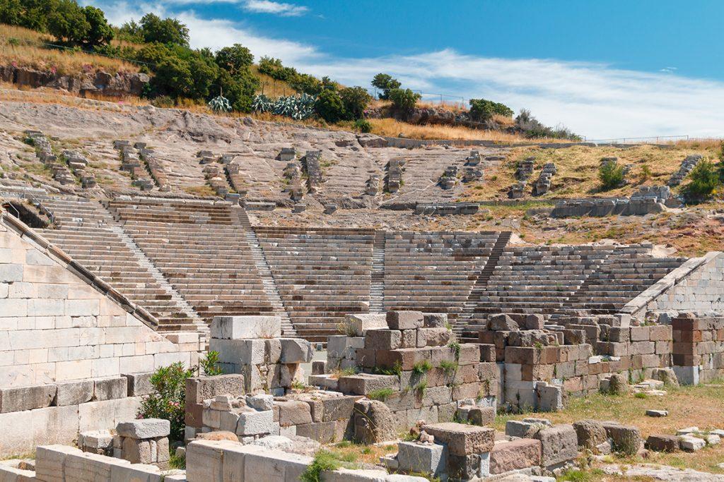 Мавзолей в Геликарнасе , Турция, история, факты, красота
