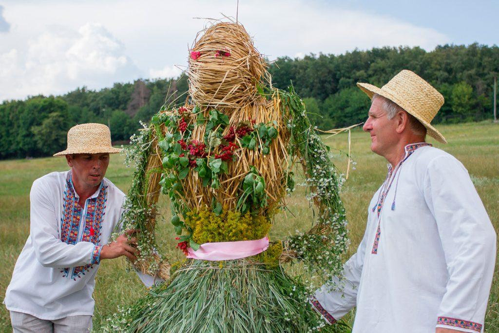 чучело, Купала, праздник, Украина