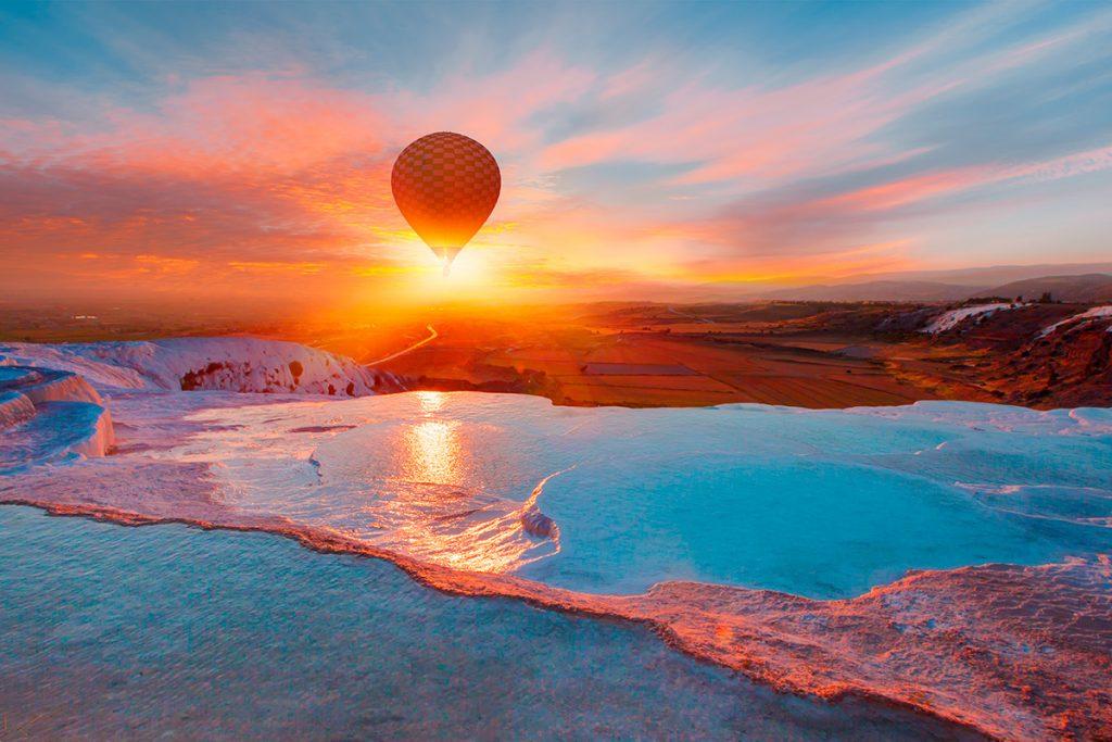термальный курорт, Турция, соль, здоровье