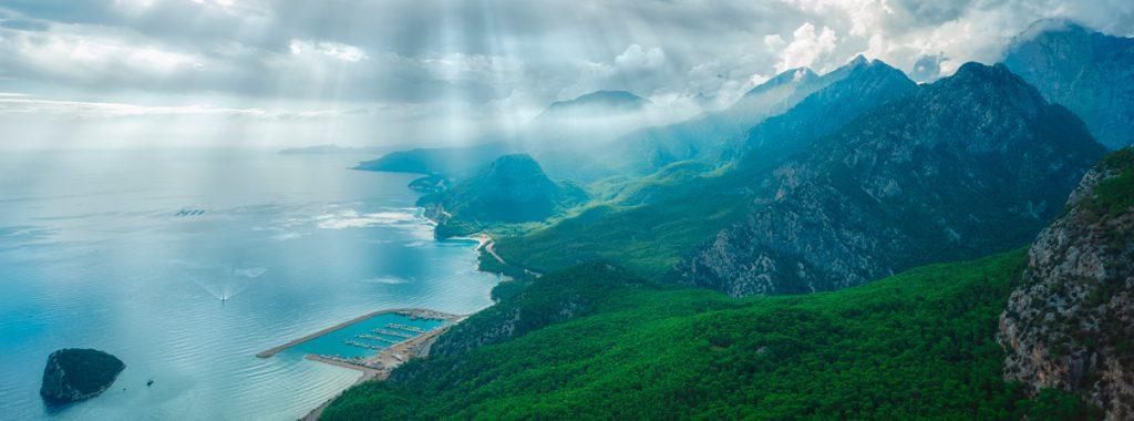 Турция, Анталия, море, горы, отдых, природа
