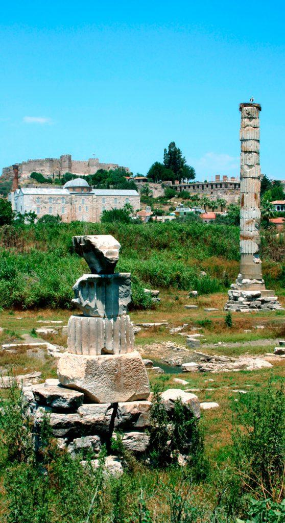 храм Артемиды Эфесской , Турция