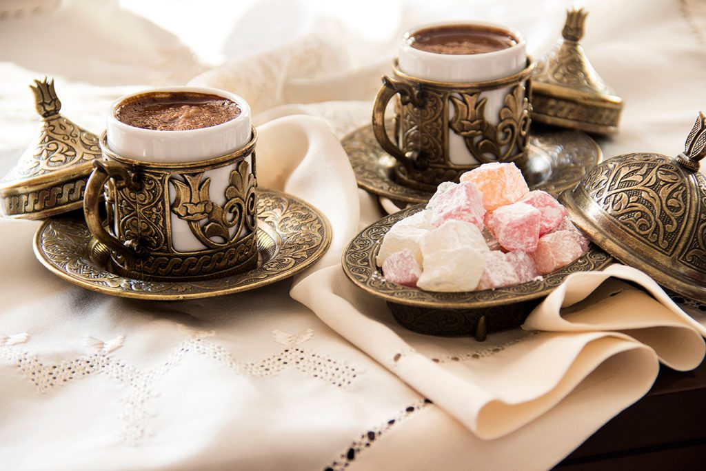 турецкий кофе, Турция, традиции, лукум